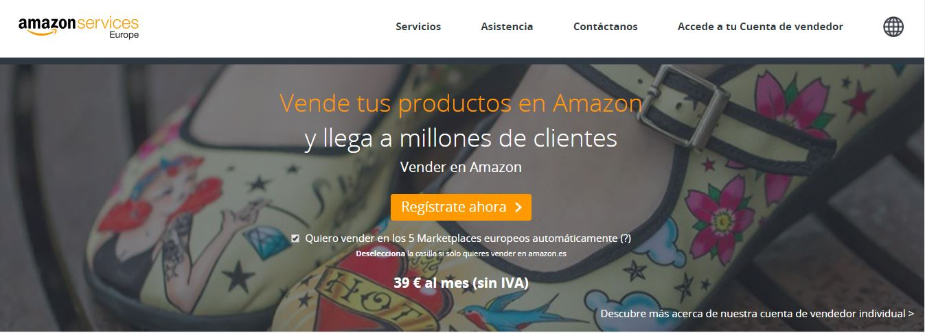 Vender tus productos en Amazon