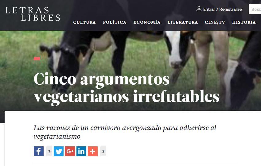 Argumentos vegetarianos