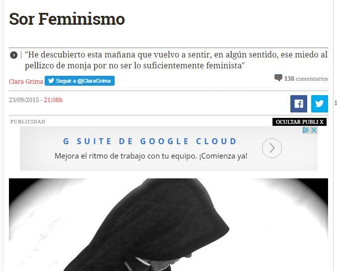 Sor Feminismo