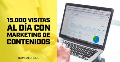 AUMENTAR VISITAS CON MARKETING DE CONTENIDOS