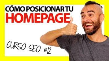 Cómo Posicionar una Web en Google – Curso SEO #12