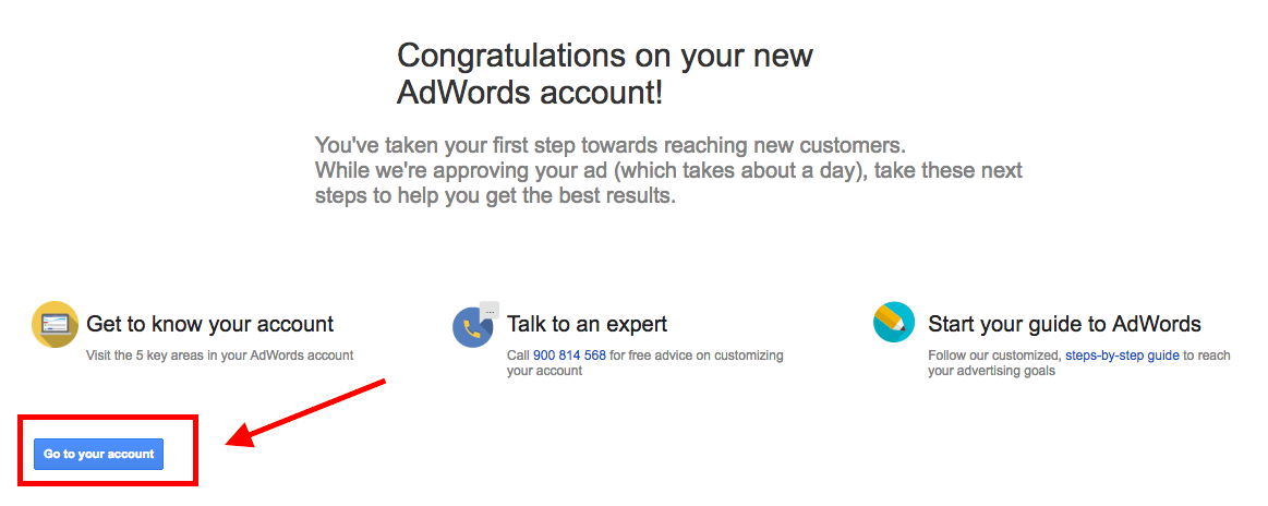 entrar en adwords