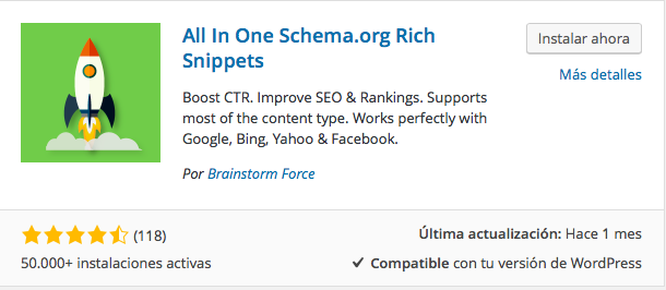 plugin all in one rich snippets