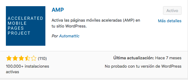 plugin AMP
