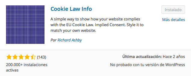 plugin cookie law info