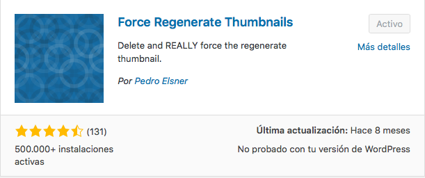 plugin force regenerate thumbnails