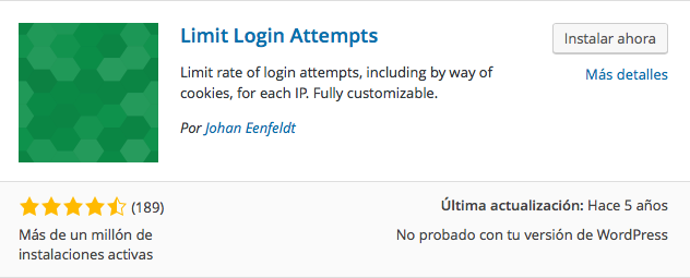 plugin limit login attempts