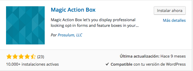 plugin magic action box