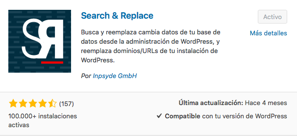plugin Search and Replace