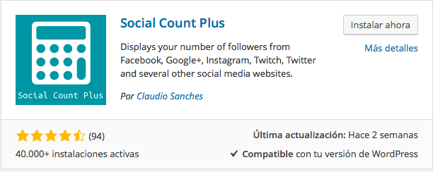 plugin social count plus
