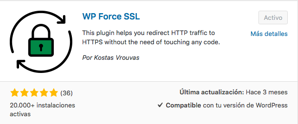 plugin WP Force SSL