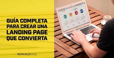 Crear una Landing Page que Convierta