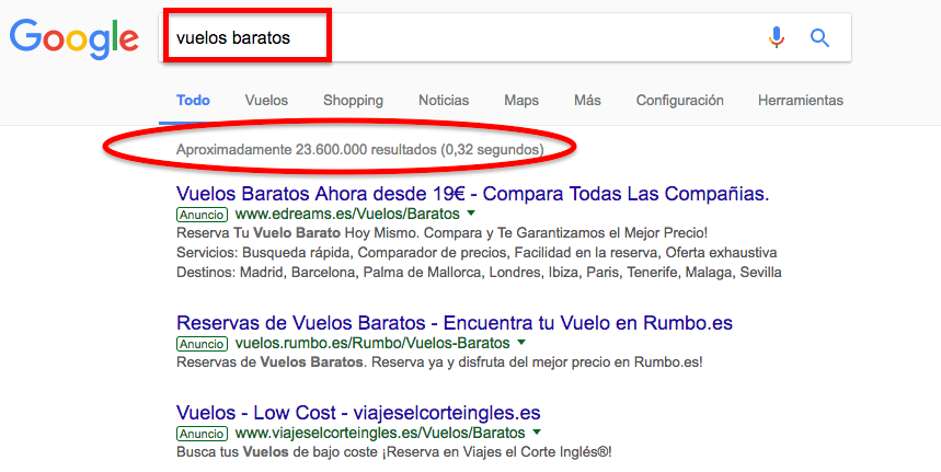 Qué son las FOOTPRINTS de Google?