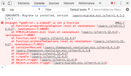cómo detectar errores de javascript