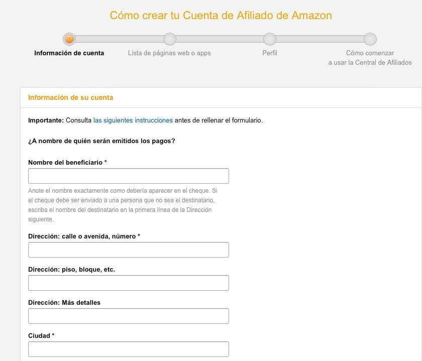 Cómo Crear una Tienda de Afiliación de Amazon TSA: Guía Paso