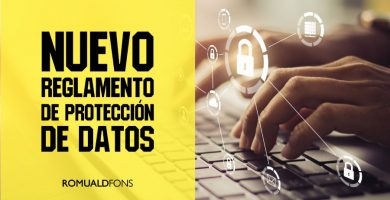 nuevo reglamento proteccion datos rgpd