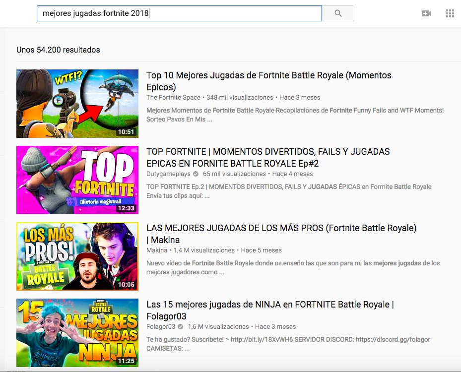 truco para posicionar palabras clave en youtube