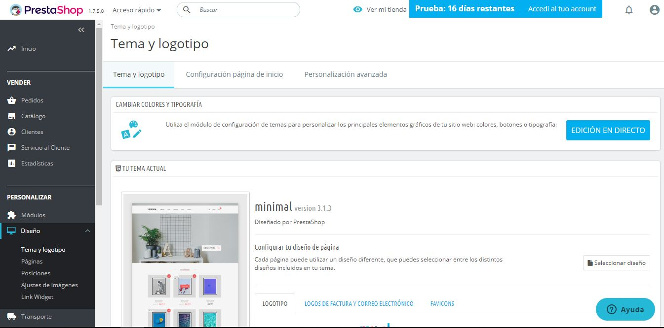 plantillas prestashop ready