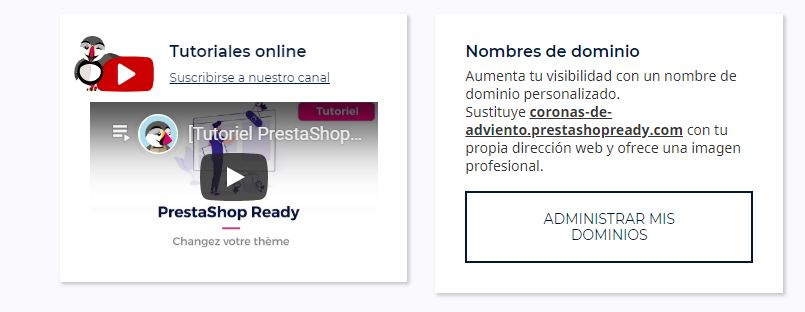 tutorial prestashop ready