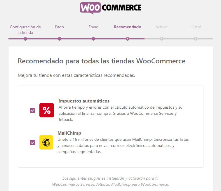 plugins recomendados woocommerce