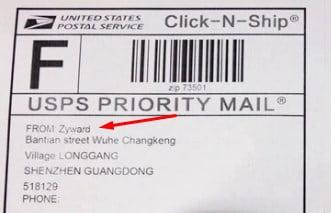 etiquetado y envío del producto dropshipping