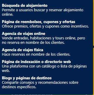 qué tipo de páginas pueden registrarse en booking afiliados