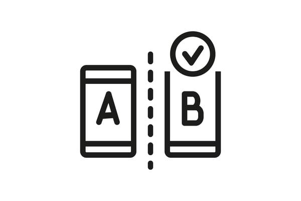 test a/b y experimentos growth hacking