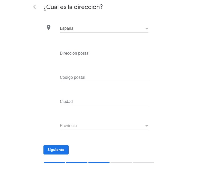 NAP en Google my Business