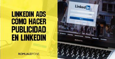 hacer publicidad en linkedin ads