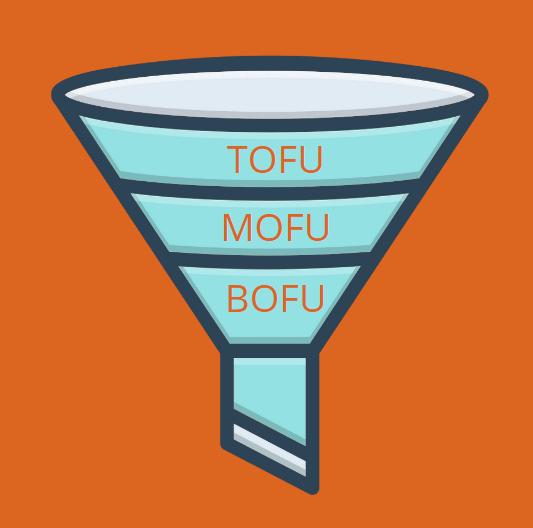 qué es tofu, mofu y bofu
