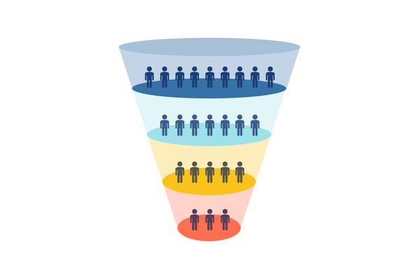 funnel de ventas marketing tradicional