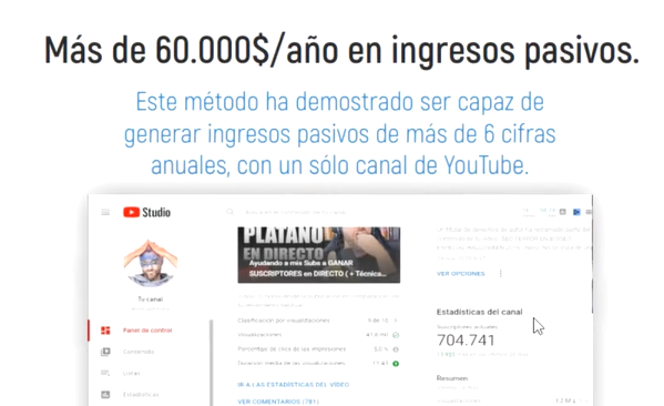 generar ingresos pasivos youtube