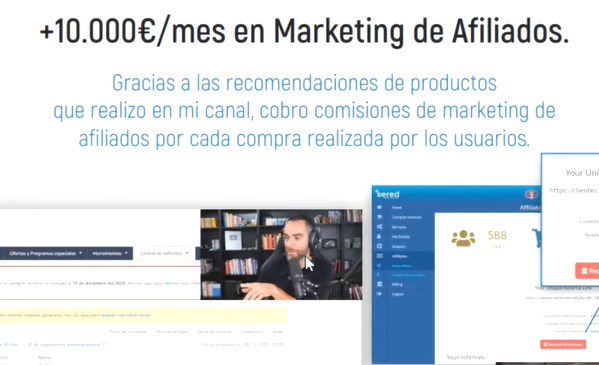 ganar dinero en youtube con marketing de afiliados