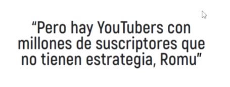 estrategia subscritores youtube